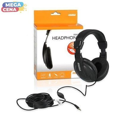 4World Słuchawki AV Stereo duże 3m
