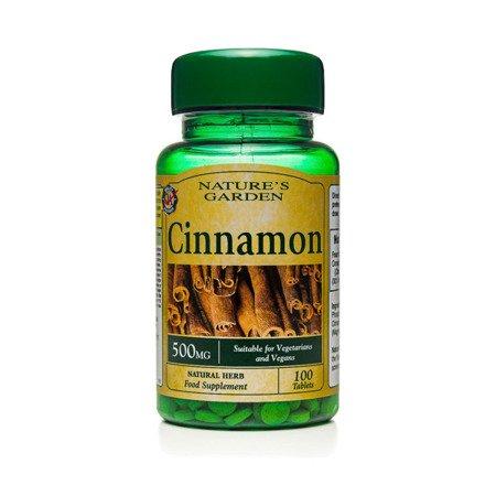 Cynamon 500 mg 100 Tabletek