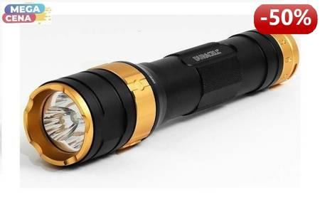Duracell Latarka LED Tough MLT-100, odporna na wstrząsy+ 6x AA