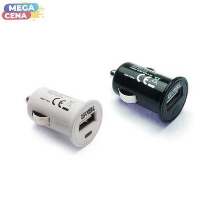 G&BL Uniwersalna ładowarka USB, 2400 mA, blister, biała