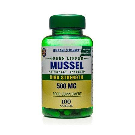 Małża Zielona 500 mg dla Pescowegetarian 100 Kapsułek