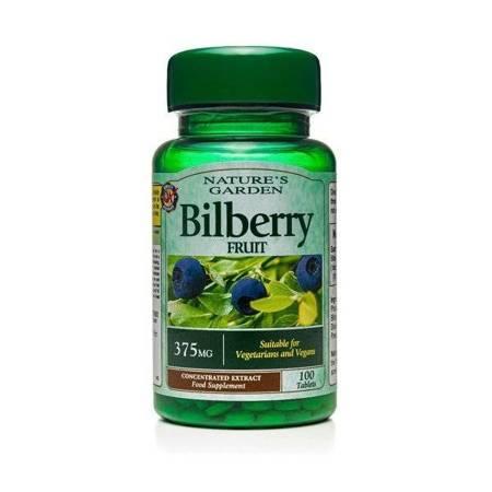 Borówka Bagienna 375 mg 100 Tabletek