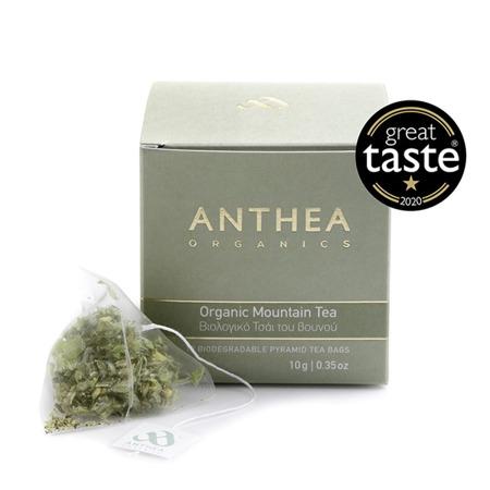 Organic Greek mountain tea plastic free tea bags