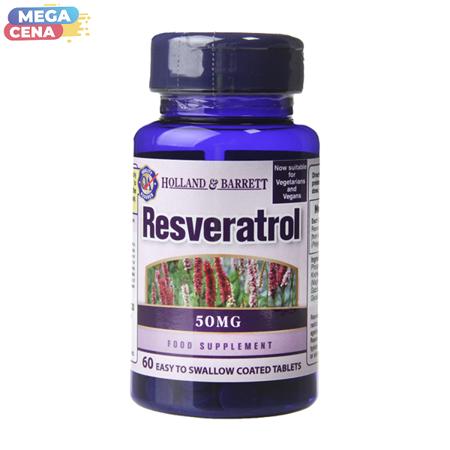 Resweratrol 50 mg 60 Tabletek