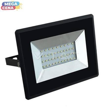 V-TAC Naświetlacz LED VT-4031 30 W SMD  3000K CZARNY