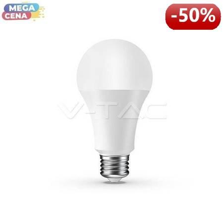 V-TAC Żarówka LED VT-5010 9W E27 A65 Amazon Alexa i Google Home Sterowanie domem inteligentnym 3000K