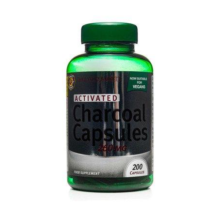 Węgiel Aktywny 260 mg Produkt Wegański 200 Kapsułek