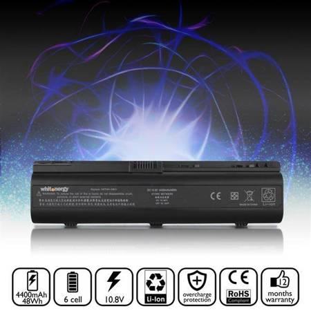 Whitenergy Bateria do laptopa HP Pavilion DV6000 10.8-11.1V 4400mAh czarna