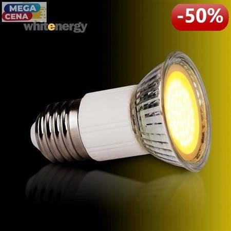 Whitenergy Żarówka LED 2.5W  E27 MR16 COB ciepła 230V Halogen / szybka