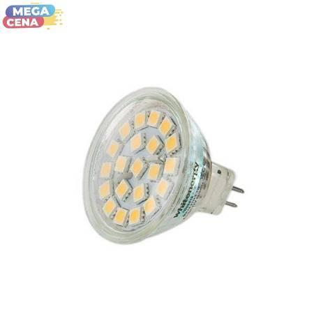 Whitenergy Żarówka LED 3.1W  GU5.3 MR16 SMD5050 ciepła 12V Halogen / szybka
