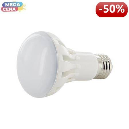 Whitenergy Żarówka LED 8W  E27 R63 SMD5630 ciepła 230V Reflektor / mleczne
