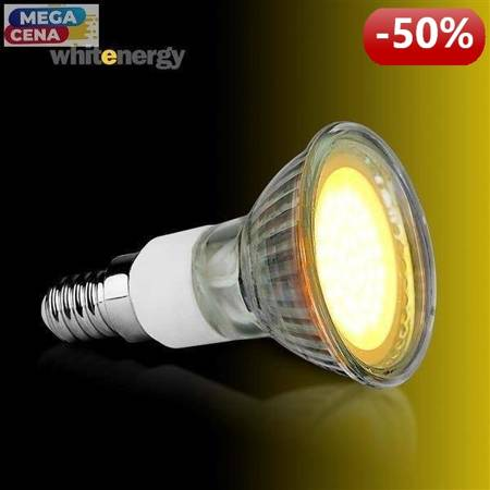 Whitenergy Żarówka LED MR16 GU10 2,5W 190lm Ciepła biała Szkło