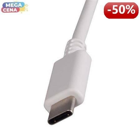 Whitenergy | Zasilacz AC | AC 230V | Napięcie/Natężenie: 5V/3A 9V/3A 12V/3A 15V/3A 20V/2.25A |USB C