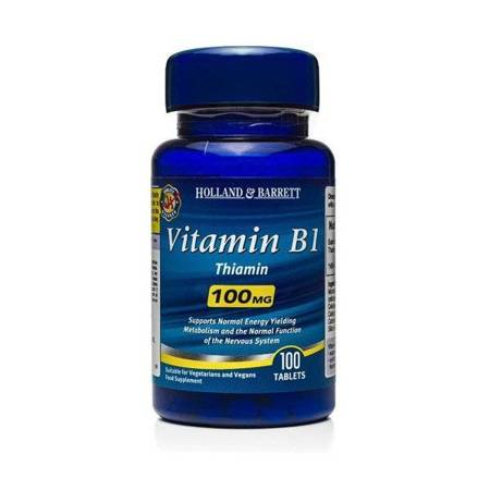 Witamina B1 100 mg 100 Tabletek