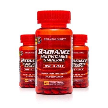 Zestaw 2+1 (Gratis) Radiance Multiwitaminy i Minerały 1 na Dzień 120 Tabletek