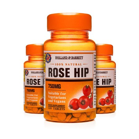 Zestaw Suplementów 2+1 (Gratis) Dzika Róża 750 mg 120 Tabletek