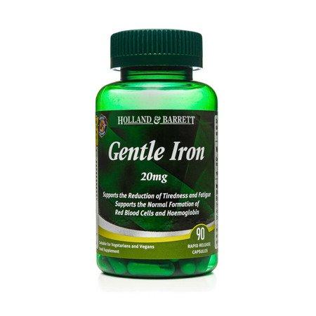 Zestaw Suplementów 2+1 (Gratis) Łagodne Żelazo 20 mg 90 Kapsułek