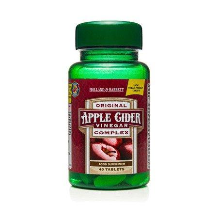 Zestaw Suplementów 2+1 (Gratis) Wyciąg z Octu Jabłkowego 40 Tabletek