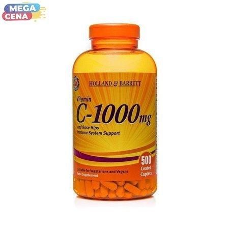 Zestaw Witamin 2+1 (Gratis) Witamina C 1000 mg z Dziką Różą 500 Kapletek