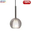 V-TAC Lampa wisząca VT-7181-GW Glass+Metal  E27 E27 180x350x1000mm