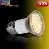Whitenergy Żarówka LED 3W  E27 MR16 SMD3528 ciepła 230V Halogen / szybka